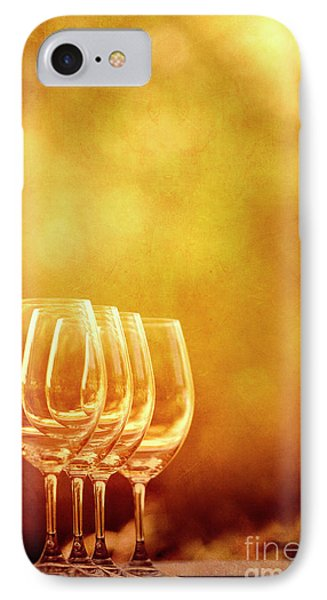 Set For Four IPhone Case by Margie Hurwich