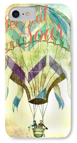 Set Sail And Soar IPhone Case by Brandi Fitzgerald