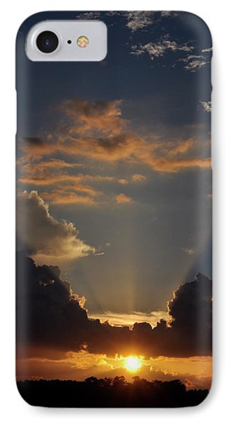 IPhone Case featuring the photograph Setting Softly by Jan Amiss Photography