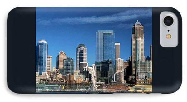 Seattle, Wa, Fine Art Print IPhone Case