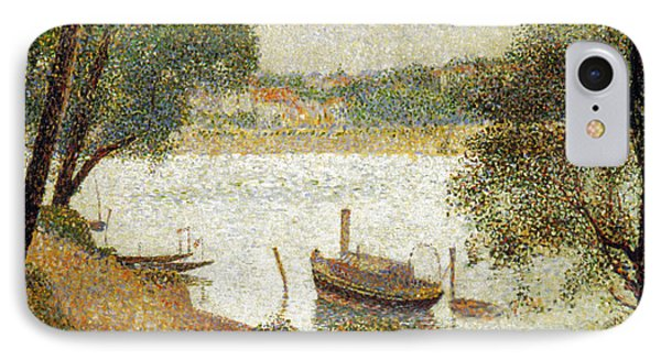 Seurat: Gray Weather Phone Case by Granger