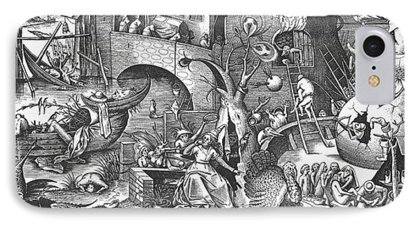 Seven Deadly Sins, 1558 Phone Case by Granger