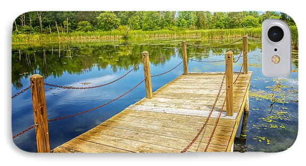 Seven Ponds Nature Center Water Fowl Refuge Dock IPhone Case