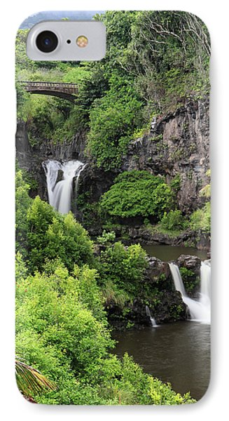 Seven Pools Hana IPhone Case by Pierre Leclerc Photography
