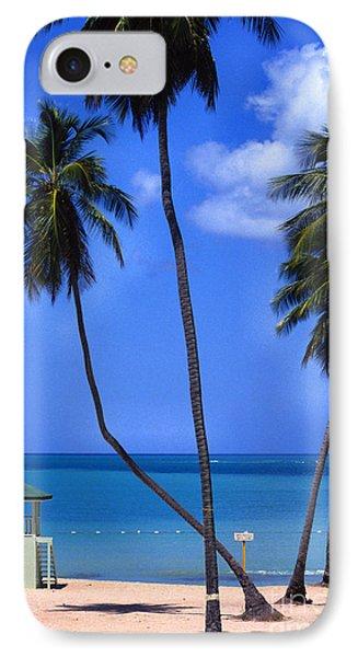 Seven Seas Beach Puerto Rico Phone Case by Thomas R Fletcher