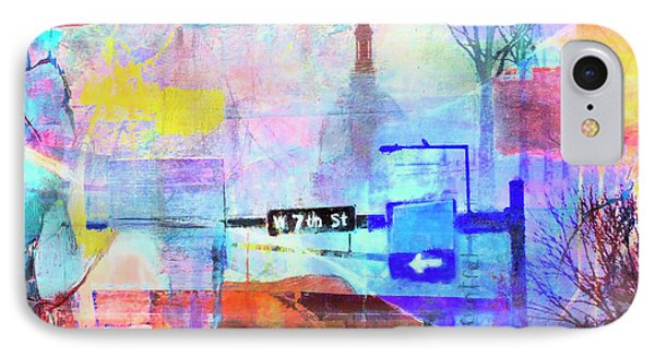 Seventh Street IPhone Case by Susan Stone