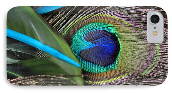 Several Feathers IPhone Case by Angela Murdock