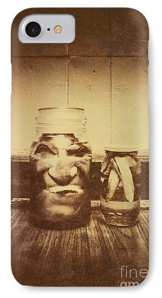 Severed And Preserved Head And Hand In Jars IPhone Case by Jorgo Photography - Wall Art Gallery