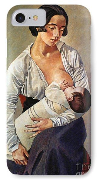 Severini: Maternity, 1916 Phone Case by Granger