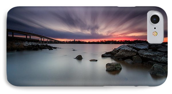 IPhone Case featuring the photograph Severn River Dusk by Jennifer Casey