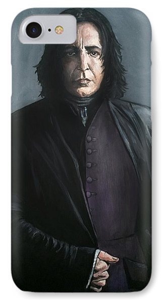 Severus Snape IPhone Case by Tom Carlton