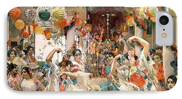 Seville IPhone Case by Joaquin Sorolla y Bastida