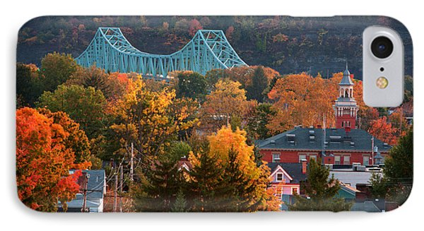 Sewickley 6 IPhone Case by Emmanuel Panagiotakis
