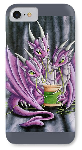 Sewing Dragons IPhone Case