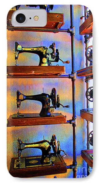 Sewing Machine Retirement Phone Case by Jost Houk