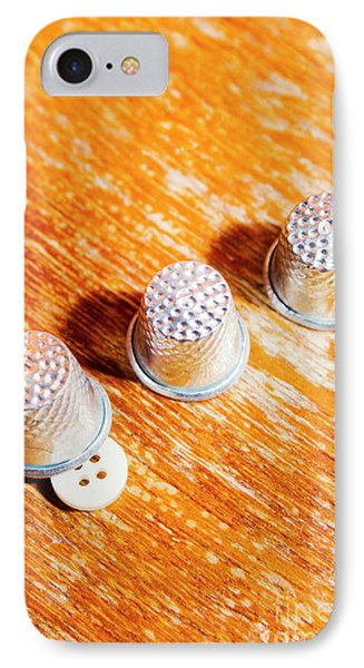 Sewing Tricks IPhone Case by Jorgo Photography - Wall Art Gallery