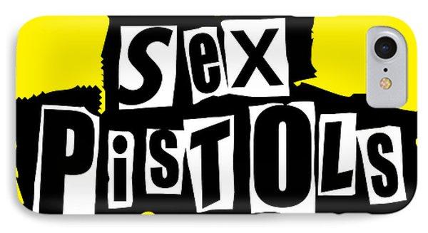 Sex Pistols Phone Case by Caio Caldas