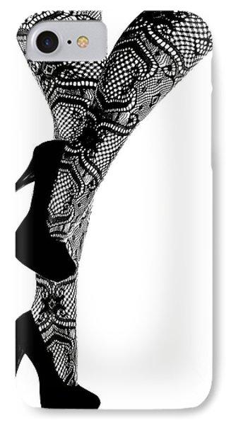 Sexy Legs In Stilettos IPhone Case by Marius Sipa