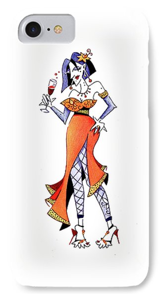 Sexy Woman Party - Happy New Year IPhone Case by Arte Venezia