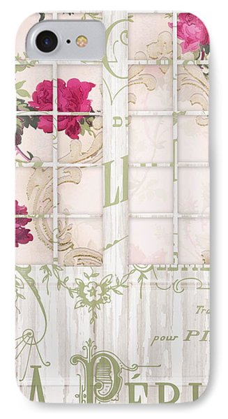Shabby Cottage French Doors IPhone Case