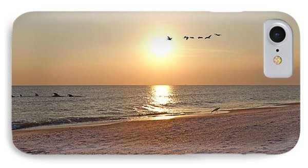 Shackleford Banks Sunset IPhone Case by Betsy Knapp