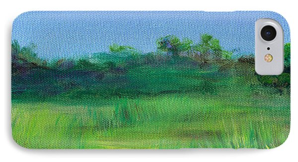 Shaded Meadow Phone Case by Regina Valluzzi