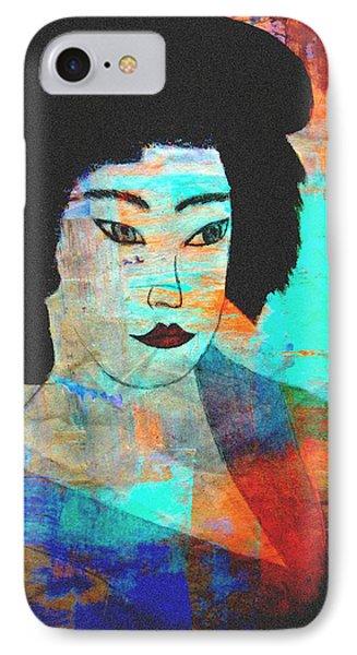 Shades Of A Geisha IPhone Case by Kathy Bucari
