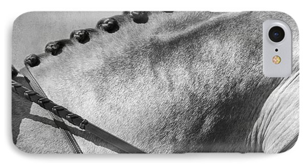 Shades Of Grey Fine Art Horse Photography IPhone Case by Michelle Wrighton