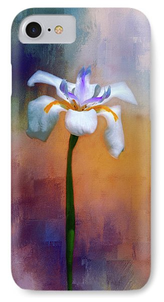 IPhone Case featuring the photograph Shades Of Iris by Carolyn Marshall
