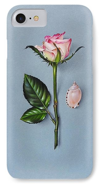 Shades Of Pink IPhone Case by Elena Kolotusha