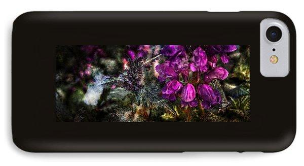 Shades Of Purple  IPhone Case by Thom Zehrfeld