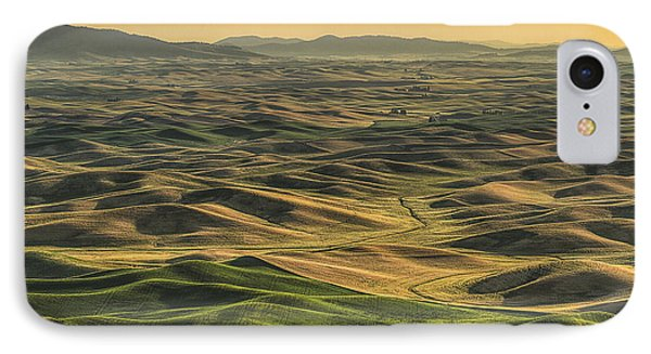 Shades Of The Palouse IPhone Case