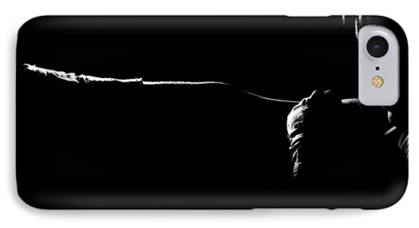 Shadow Boxing Phone Case by Scott Sawyer