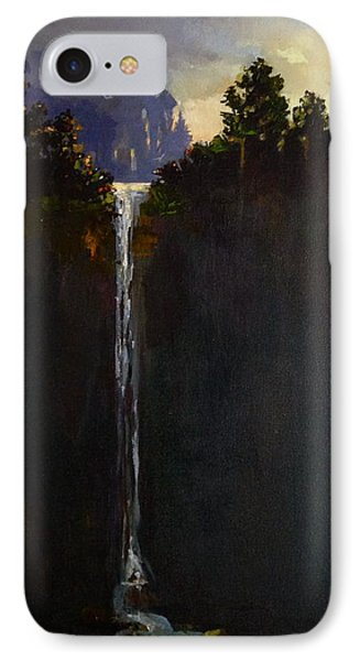 IPhone Case featuring the painting Shadow Falls by Helen Harris