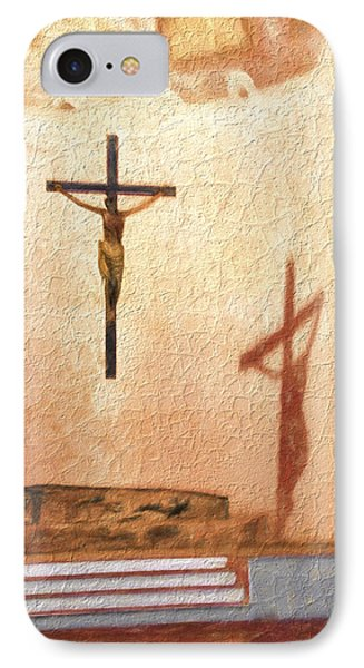 Shadow Of Christ IPhone Case