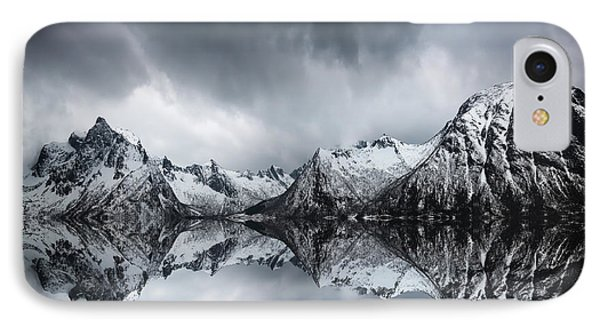 Shadow Of The Day IPhone Case by Philippe Sainte-Laudy