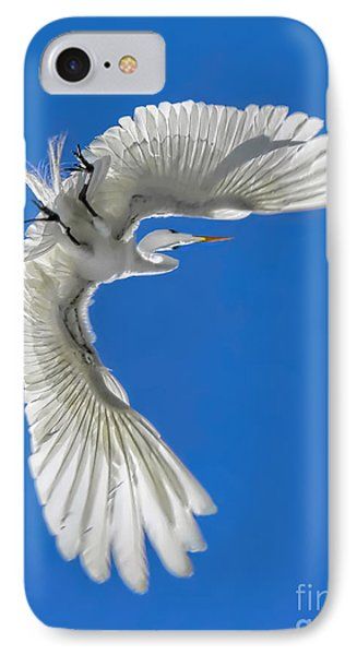 Shadow On A Wing IPhone Case by Jennie Breeze