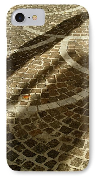 IPhone Case featuring the photograph Shadow On Stone by Michael Flood