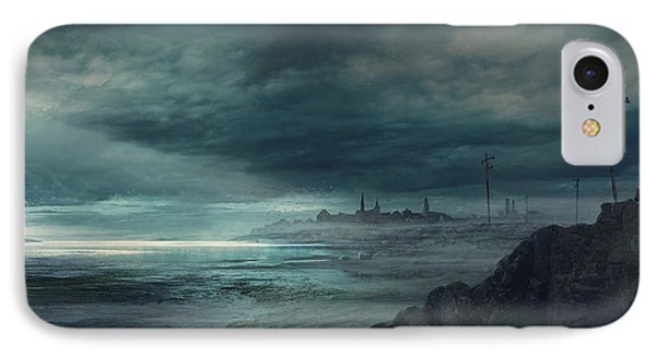 Shadow Over Innsmouth IPhone Case by Guillem H Pongiluppi