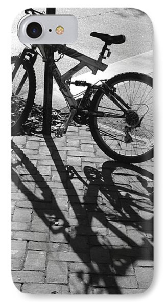 Shadow Play IPhone Case by Suzanne Gaff