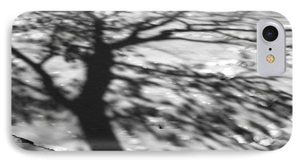 Shadow Tree  Herrick Lake  Naperville Illinois Phone Case by Michael Bessler