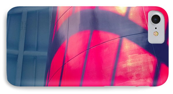 Shadows And Curves 01 IPhone Case by Tony Grider