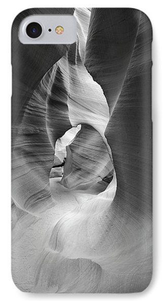 Shadows In Antelope Canyon IPhone Case by Jon Glaser
