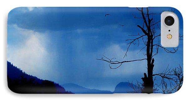 Shadows In The Rain  Phone Case by John Poon