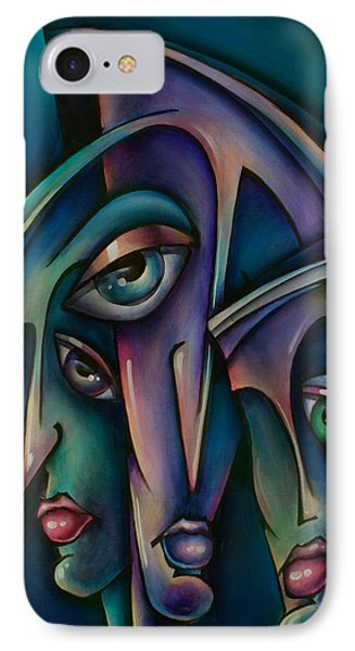 Shadows Phone Case by Michael Lang