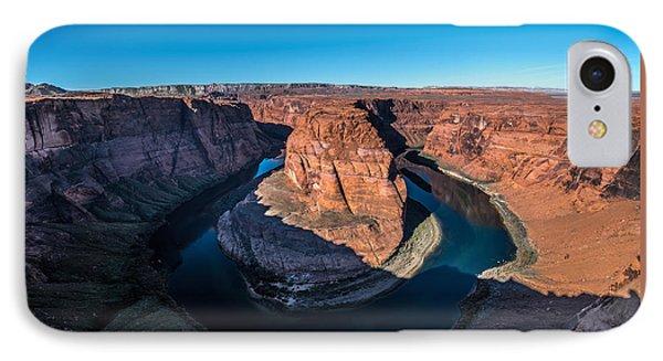 Shadows Of Horseshoe Bend Page, Arizona IPhone Case