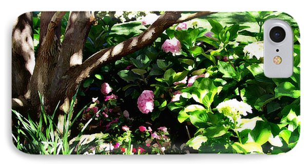 IPhone Case featuring the photograph Shadows Through The Garden by Glenn McCarthy Art and Photography