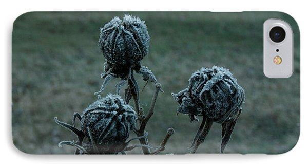 Shadowy Frozen Pods From The Darkside Phone Case by Douglas Barnett