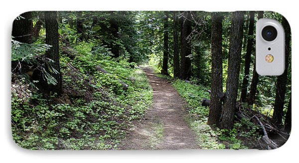 IPhone Case featuring the photograph Shady Grove Path by Ben Upham III