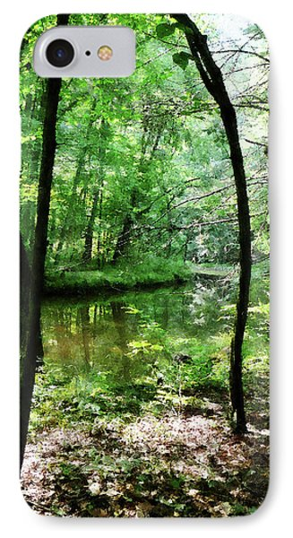 Shady Woods Phone Case by Susan Savad
